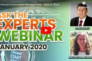 infrastructure asset management experts webinar